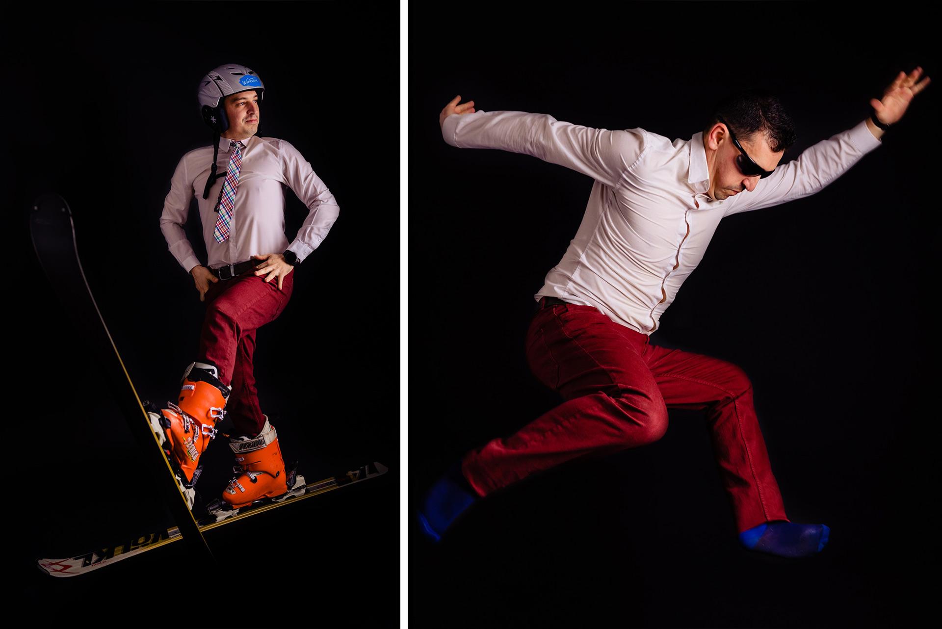 ln ski jump - Ce fac fotografii de nunta in extrasezon